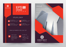 Cover Design Vector template set Brochure, Annual Report, Magazine, Poster, Corporate Presentation, Portfolio, Flyer, Banner. Cover Design Vector template set of royalty free illustration