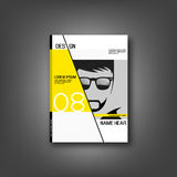 Cover fashion vector design Stock Image