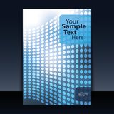 Cover or Flyer Design Royalty Free Stock Photo