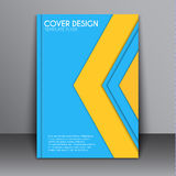 Cover Material design style Stock Images