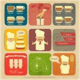 Cover Menu for Cafe Stock Photos