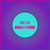 Cover with  metamorphosis circles Stock Photography