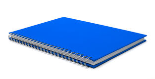 Cover of notebook isolated stock images