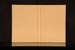 Cover old style recycle brown book on Royalty Free Stock Photography