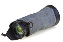 Cover photo lens Royalty Free Stock Photo