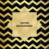 Cover placard marble or stone texture with gold foil and chevron zig zag stripes blue and gold wavy background. Template for your. Designs, banner, card, flyer stock illustration