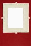 Cover of retro leather photo album Stock Image