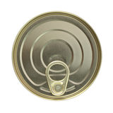 Cover ring tin can Stock Photo