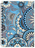 Cover tangle zen design of the notebook. Hand drawn tangled zen pattern with mandalas and flowers for decorate book, notebook, case, stationery. Mock up of the Stock Photos
