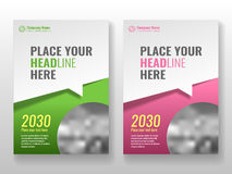 Cover template for books, magazine, brochures, corporate presentations. Cover template for books, magazine, brochures, corporate presentations, annual reports Royalty Free Stock Photography