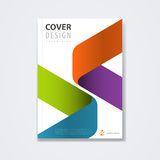 Cover template, brochure template layout, for technology concept or corporate business Royalty Free Stock Images