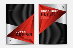 Cover template design, business brochure flyer, annual report, mgazine ad, advertisement, book cover layout, poster, catalog. Cover vector template design royalty free illustration