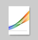 Cover wave concept Royalty Free Stock Image