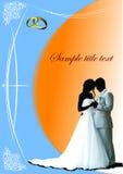 Cover for wedding album Stock Photo