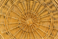 Cover from a wicker basket, close up Stock Images
