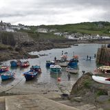 Coverack Royaltyfri Bild