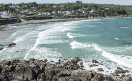 Coverack bay in Cornwall England Stock Image