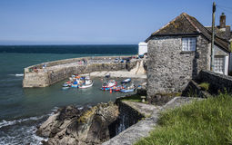 Coverack bay in Cornwall England Royalty Free Stock Photography