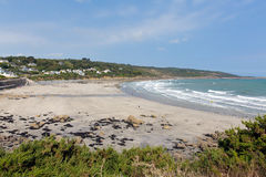 Coverack beach The Lizard Cornwall England UK South West England on a sunny summer Stock Photo