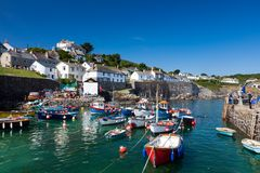 Coverack Cornwall Anglia UK obrazy stock