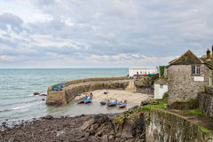Coverack in Cornwall Stock Image