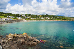 Coverack Harbour, Cornwall. Stock Photography