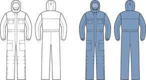 Coverall Stock Images