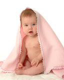 Covered Baby royalty free stock photos