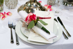 Covered banquet Royalty Free Stock Photography