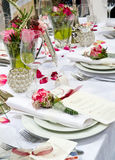 Covered banquet Stock Photography