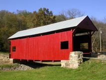 Covered bridge 1 royalty free stock photos