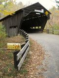 Covered Bridge. Durgin Bridge, near Sandwich, New Hampshire stock photos