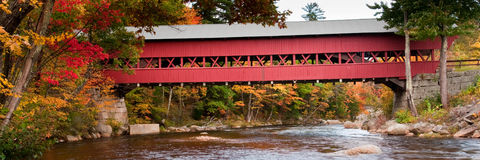Covered Bridge Royalty Free Stock Photos