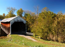 Covered Bridge. Grange City Covered Bridge in Fleming County Kentucky Royalty Free Stock Photography