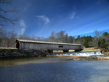 Covered Bridge 2 Royalty Free Stock Images