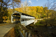 Covered bridge. At Valley Forge, built in 1865 Royalty Free Stock Photos