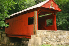 Covered Bridge. In Washington County, PA Royalty Free Stock Image