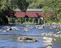 Covered Bridge. West Cornwall CT Covered Bridge Stock Images