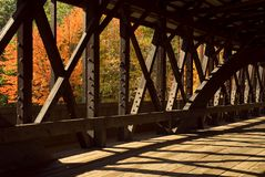 Covered Bridge Stock Image