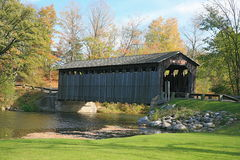 The covered bridge Stock Photo