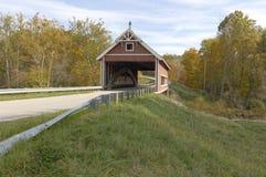 Covered Bridge. S in Northeast Ohio Counties. Early Fall season stock photos