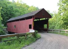 Covered Bridge. Found this Covered Bridge in Washington County, Pennsylvania Royalty Free Stock Image