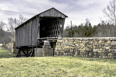 Covered Bridge in Goddard, KY Stock Photography
