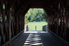 Covered Bridge, Guelph, Ontario, Canada Stock Images