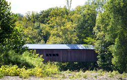 Covered bridge in indiana Royalty Free Stock Photos