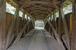 Covered Bridge Interior Royalty Free Stock Photo