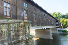 Covered Bridge in Lovech in Bulgaria Royalty Free Stock Photos