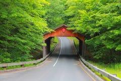 Covered bridge in Michigan Stock Photos
