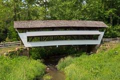 Covered Bridge at Mink Hollow Stock Photos