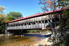 Covered Bridge, New England Stock Photography